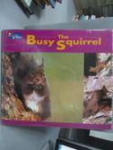 【書寶二手書T5/少年童書_QXU】The Busy Squirrel_Russell Davies,張東君_附光碟