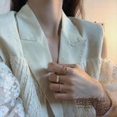 3只裝戒指女ins潮復古小眾設計輕奢時尚簡約冷淡風指環網紅食指戒 雙十二全館免運