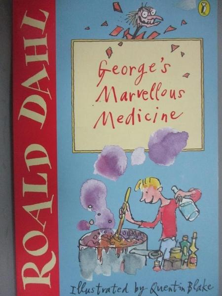 【書寶二手書T1/少年童書_OER】George's Marvellous Medicine_Roald Dahl
