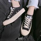 IMPACT EXCELSIOR 餅乾鞋 帆布鞋 黑 白 焦糖底 韓國限定 百搭 韓妞 CS M6017CV BK