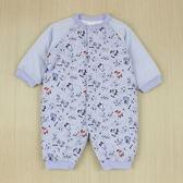 【愛的世界】溜冰小男童純棉鋪棉衣連褲/6個月~1歲-台灣製- ★幼服推薦