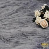 長毛絨拍照背景布直播裝飾首飾美甲柜臺毛毯絨布攝影道具【輕奢時代】