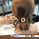 金屬墜飾髮束 電鍍髮圈 愛心吊飾 造型品飾品 高彈力 米荻創意精品館