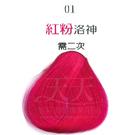 【挑染專用】彩靈EURO 彩色漂粉15g-01紅粉洛神 [29918]