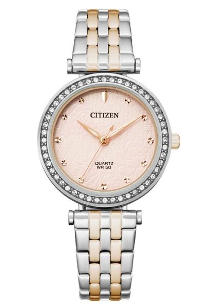 30mm【分期0利率】 星辰錶 CITIZEN 石英錶 48顆水晶 全新原廠公司貨 ER0218-53X