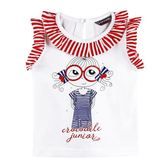 『小鱷魚童裝』眼鏡娃娃印花T恤(01號~10號)535484