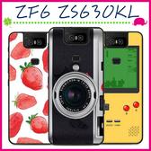 Asus ZenFone6 ZS630KL 華碩6 創意彩繪系列手機殼 個性背蓋 黑邊手機套 經典圖案保護套 保護殼