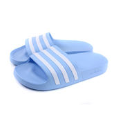 adidas ADILETTE AQUA 拖鞋 防水 粉藍色 女鞋 EE7346 no736