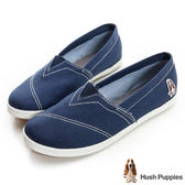 Hush Puppies 基本款咖啡紗懶人鞋-深藍