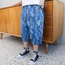 童裝男童牛仔短褲子夏裝2021新款中大兒童七分外穿中褲洋氣韓版潮 一米陽光