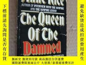 二手書博民逛書店The罕見Queen of the Damned 英文原版 書口