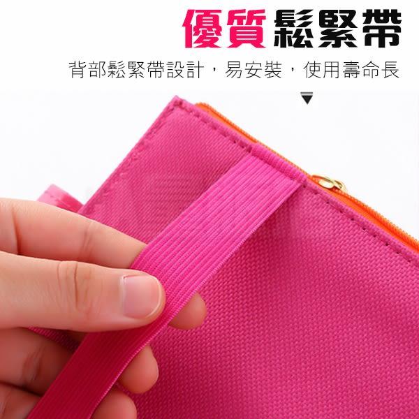 車用 遮陽板 收納袋 韓版 掛袋 掛包 收納包 證件袋(V50-0987)