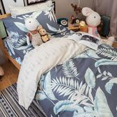 天堂島叢林 A3枕套乙個 100%復古純棉 台灣製造 棉床本舖