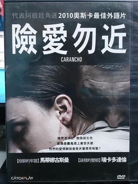 挖寶二手片-Y115-044-正版DVD-電影【險愛勿近】-瑞卡多達倫 馬蒂娜古斯曼(直購價)