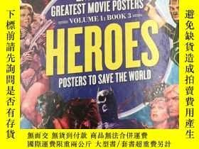 二手書博民逛書店Superhero罕見Posters To Save The W