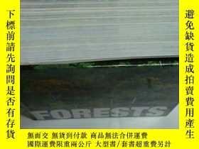 二手書博民逛書店FORESTS罕見森林攝影 精裝 厚Y23200