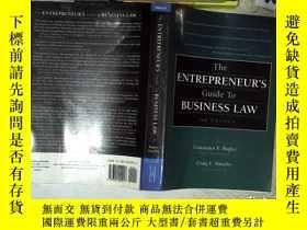 二手書博民逛書店THE罕見ENTREPRENEUR S GUIDE TO BUSINESS LAW 2ND EDITION 企業家