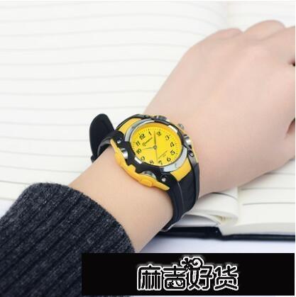 手錶兒童手錶男孩糖果色防水石英錶中小學生女款公主女孩指針式電子錶 【全館免運】