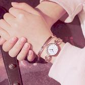 手錶女學生韓版簡約小巧秀氣淑女手鍊裝飾錶