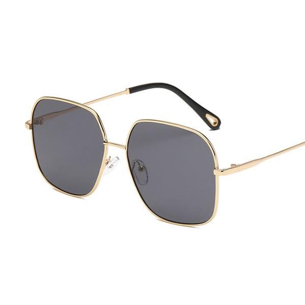 OT SHOP太陽眼鏡‧復古時尚大方框抗UV400海洋透明片墨鏡/大框文青平光眼鏡‧現貨七色‧U72