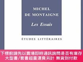 二手書博民逛書店Michel罕見De Montaigne. Les EssaisY255174 Marie-luce Demo