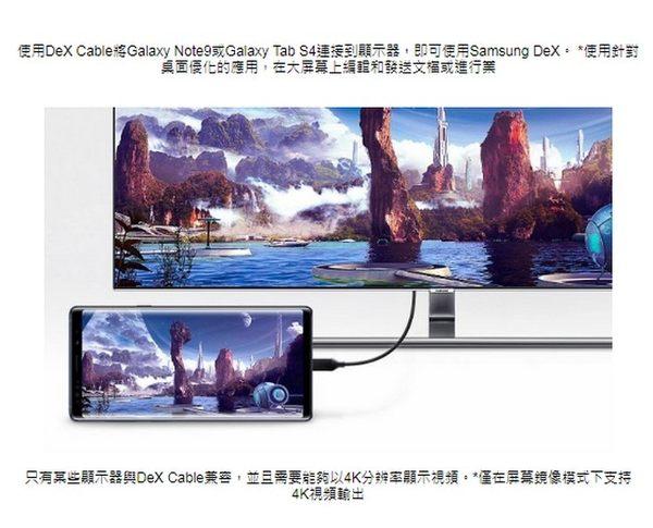 【免運費】SAMSUNG 原廠Dex 影音傳輸線EE-I3100 【原廠盒裝】