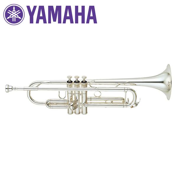 小叮噹的店- Yamaha 日本製 YTR6335SII 鍍銀小號 Bb調 小喇叭 (YTR-6335SII)