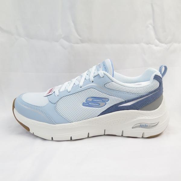 Skechers ARCHFIT-GENTLE STRIDE 女款 健走鞋 149413LTBL 白灰藍【iSport】