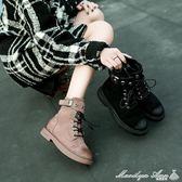 靴子 春秋馬丁靴女英倫風學生正韓百搭靴子INS短筒網紅小短靴瑪麗蓮安
