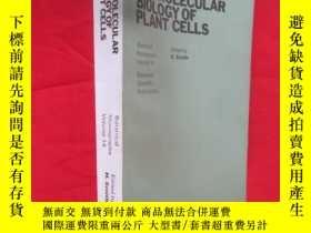 二手書博民逛書店THE罕見MOLECULAR BIOLOGY OF PLANT CELLS(植物細胞的分子生物學) 【小16開】,