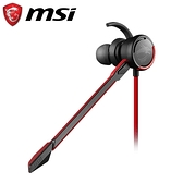 MSI 微星 GH10 耳塞式電競耳機麥克風