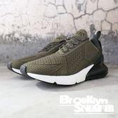 Nike Air Max 270 SE 軍綠黑 氣墊 襪套 慢跑 男 (布魯克林)2018/11月 AQ9164-300
