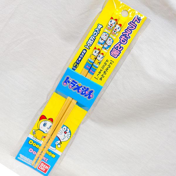 哆啦A夢 天然 竹筷子 日本製 BANDAI正版品 DORAEMON