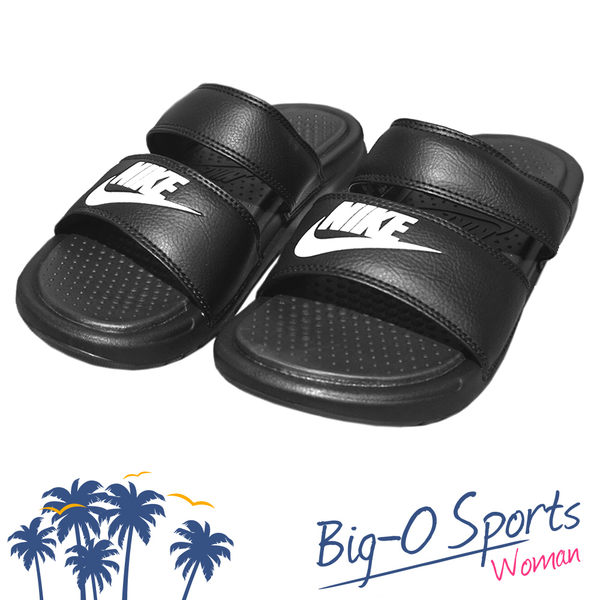 NIKE 耐吉 WMNS BENASSI DUO ULTRA SLIDE 雙帶拖鞋 運動拖鞋 女 819717010 Big-O Sports