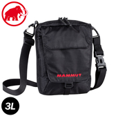 【MAMMUT 長毛象 Tasch Pouch 3L 側背包《黑》】2520-00131/斜背包/小包/旅遊
