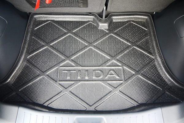 第二代 日產 NISSAN BIG TIIDA 五門 專用凹槽防水托盤 防水墊 防水防塵 密合度高