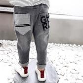 現貨 童裝牛仔褲春秋男童褲子韓版兒童長褲【聚寶屋】