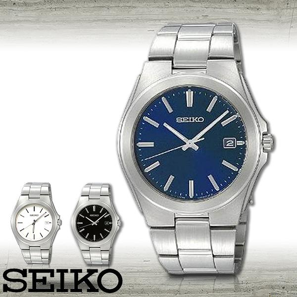 SEIKO 精工手錶專賣店 SGEE79P1 男錶 石英錶 不鏽鋼錶殼錶帶 藍 礦物強化玻璃 防水