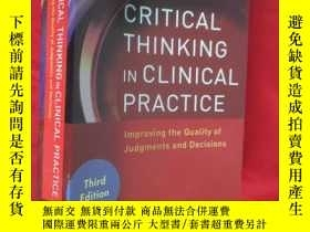二手書博民逛書店Critical罕見Thinking in Clinical P