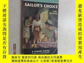 二手書博民逛書店外文書罕見sailor,s choice 共144頁Y15969