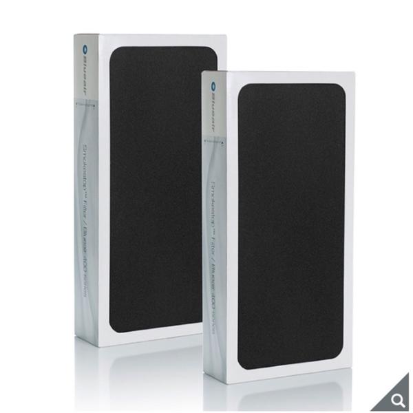 全新 Blueair 400 SERIES SmokeStop Filter 活性碳濾網 2入組 ( 適用 405 • 480i • 450E) 產地:中國