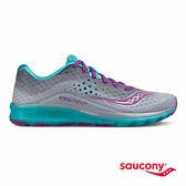 SAUCONY KINVARA 8 專業訓練鞋款-灰X藍X紫