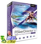 [106美國直購] 2017美國暢銷軟體 Cyberlink PowerDirector 15 Ultimate