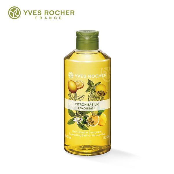 Yves Rocher 檸檬羅勒沐浴露400ml