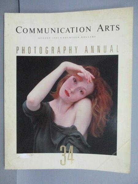 【書寶二手書T1/收藏_PID】Communication Art_Photography Annual_1993/8