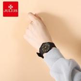 聚利時手錶女款簡約塑膠手錶中小學生時尚潮流兒童手錶中性表腕表 雙十二全館免運
