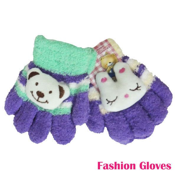 兒童五指毛線手套-小RK115款式隨機