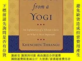 二手書博民逛書店Advice罕見From A Yogi : An Explana