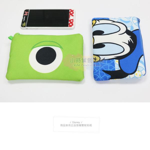 迪士尼 筆袋 護照包 正版 帆布 扁 收納包 化妝包 零錢包 手機包 卡片包 長夾 小時候創意屋
