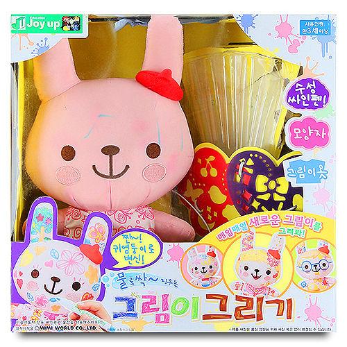 【 MIMI WORLD 】粉紅兔魔法塗鴉組Painting(DIY我是小兔子塗鴉遊戲) MI52752